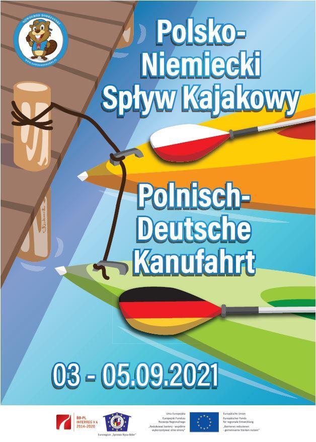 Polnisch-Deutsche Kanufahrt 2021
