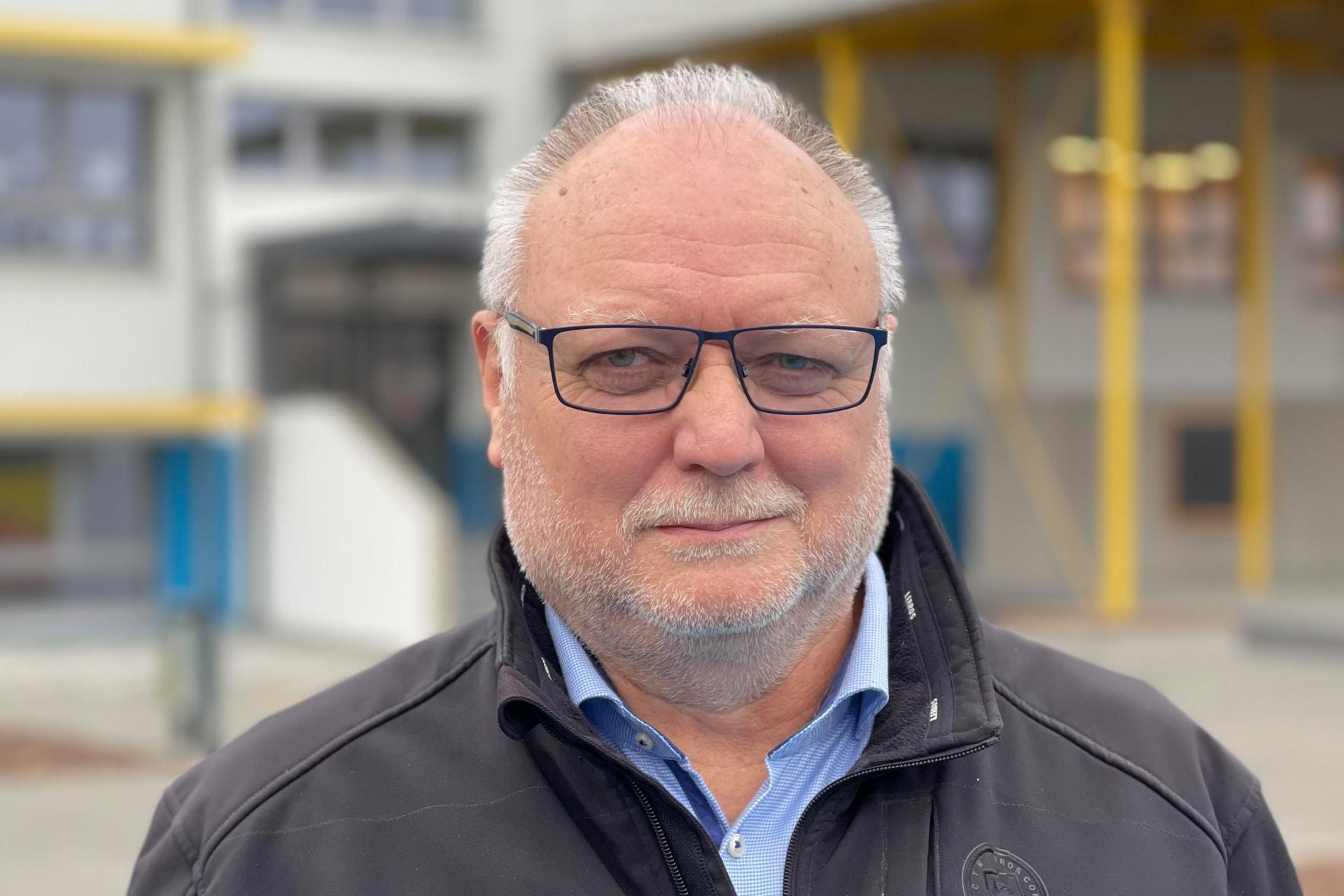 Fachbereichsleiter Rainer Schamberg
