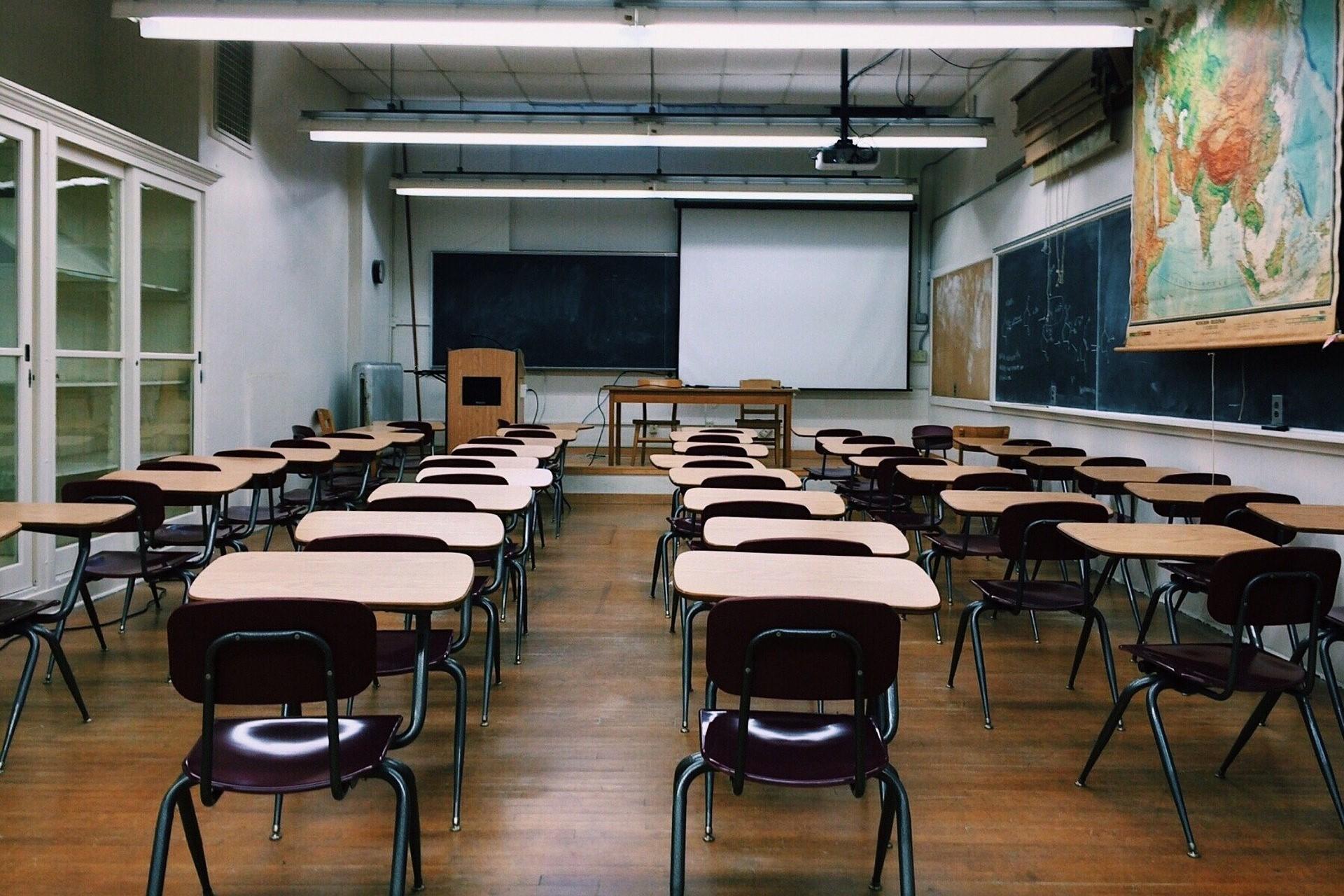 Bild Klassenzimmer, Quelle: Bild von Wokandapix auf Pixabay