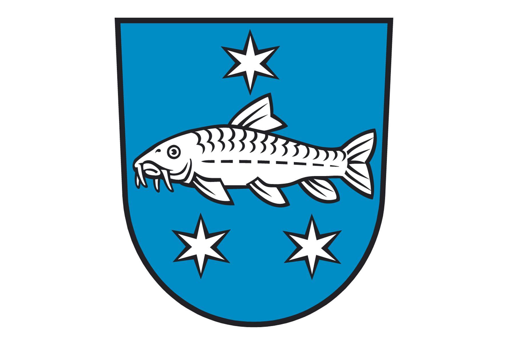 Wappen der Stadt Lübbenau/Spreewald, Quelle: Stadt Lübbenau/Spreewald