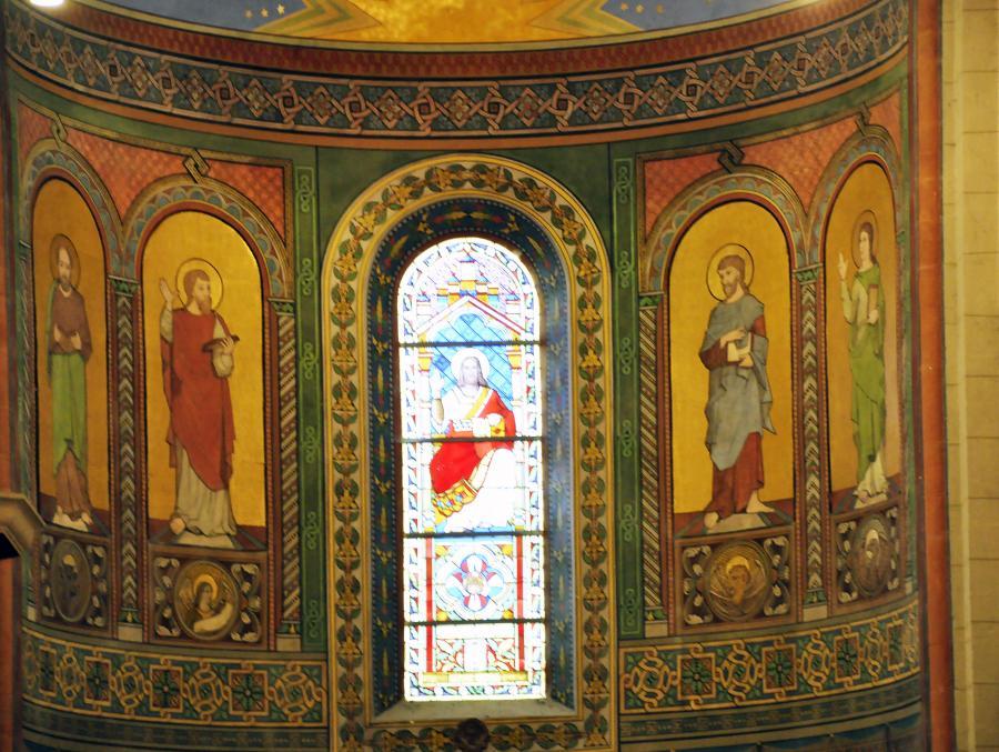 4 Evangelisten_Hauptapsis_Neobyzantinisch 19. Jh.