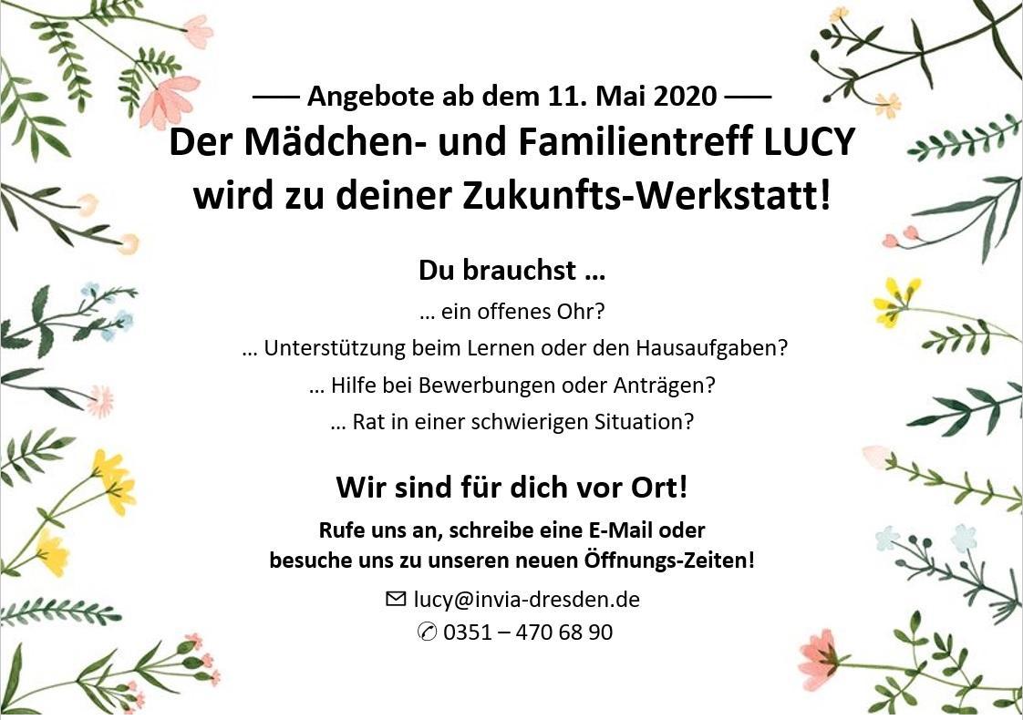 Wochenplan LUCY