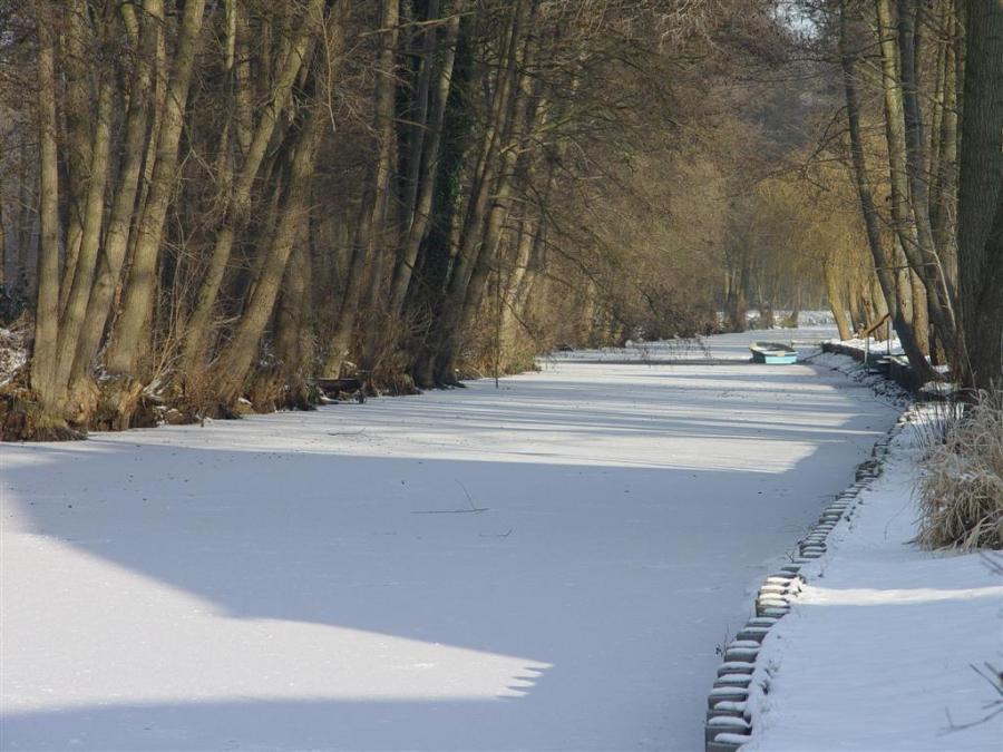 Winterliche Dosse in Hohenofen