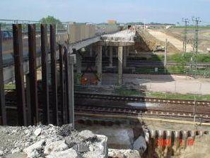 Brückenbauwerk 70 bei Wustermark BAB A10