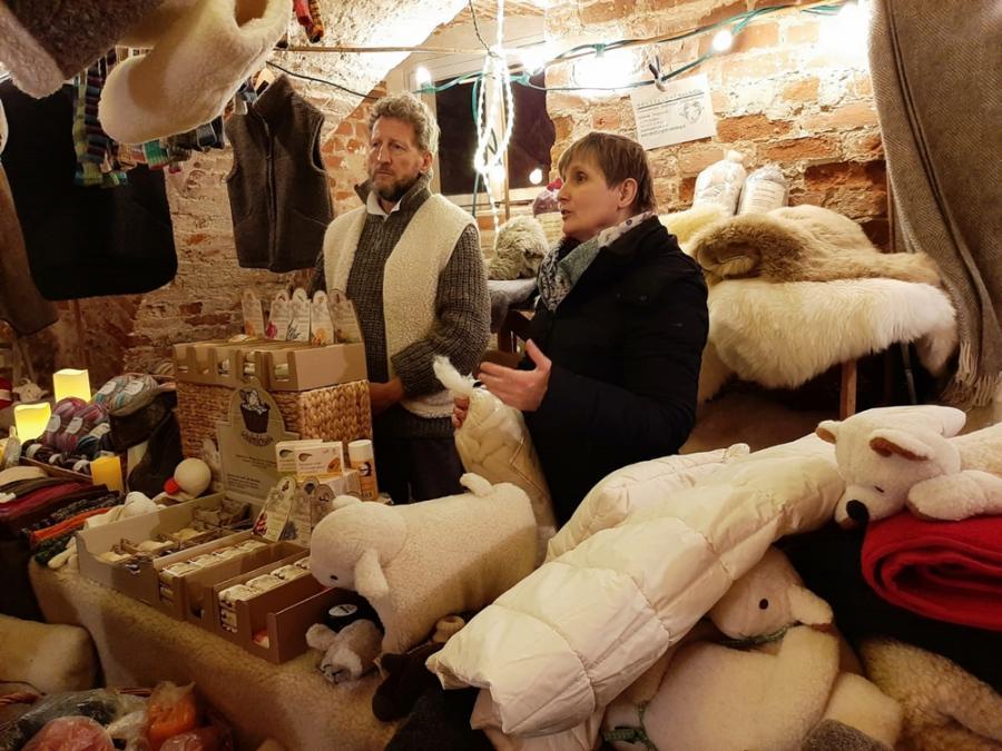 Nikolausmarkt im Reckhahner Schlosskeller