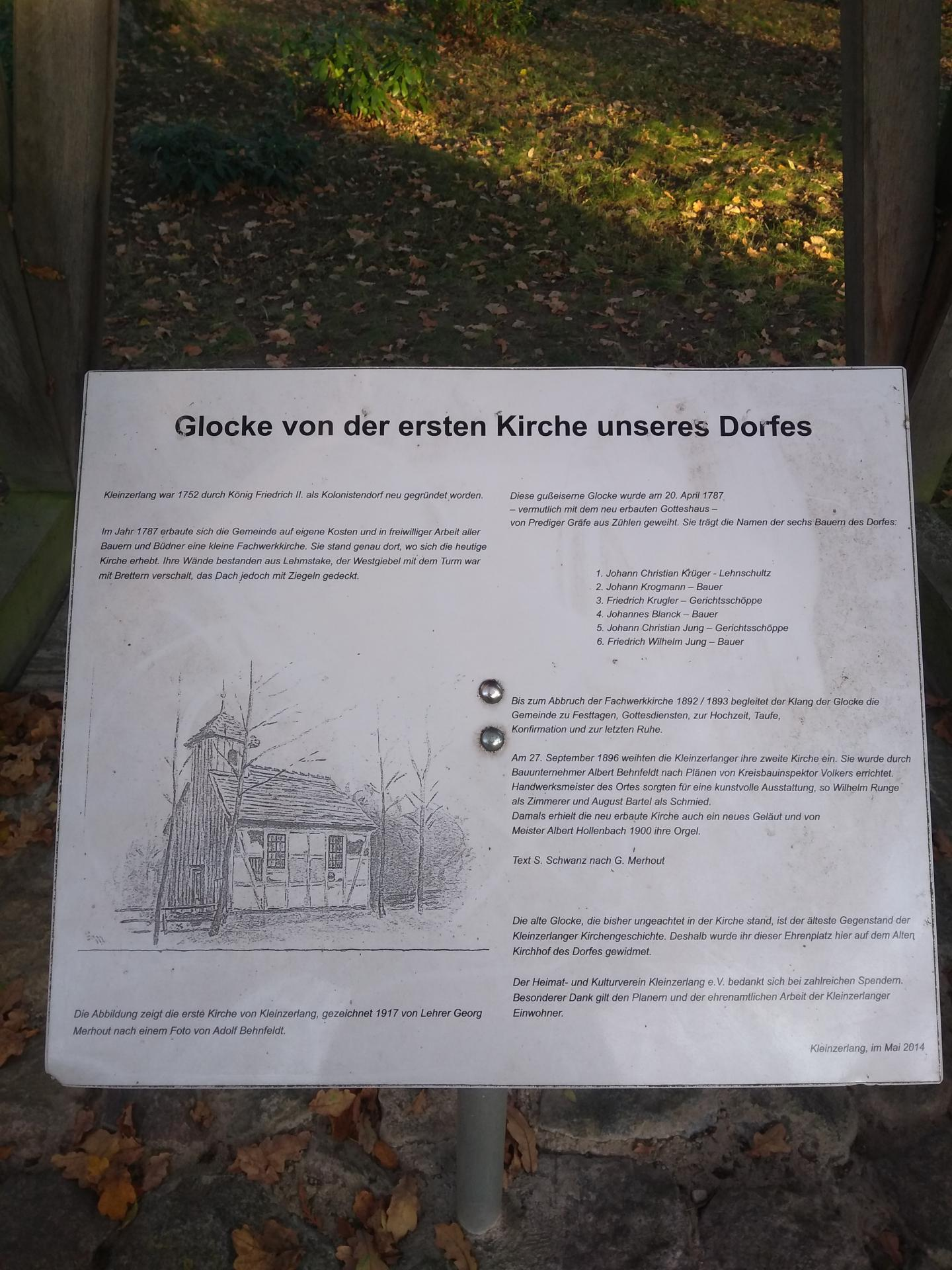 Infotafel Glockenturm