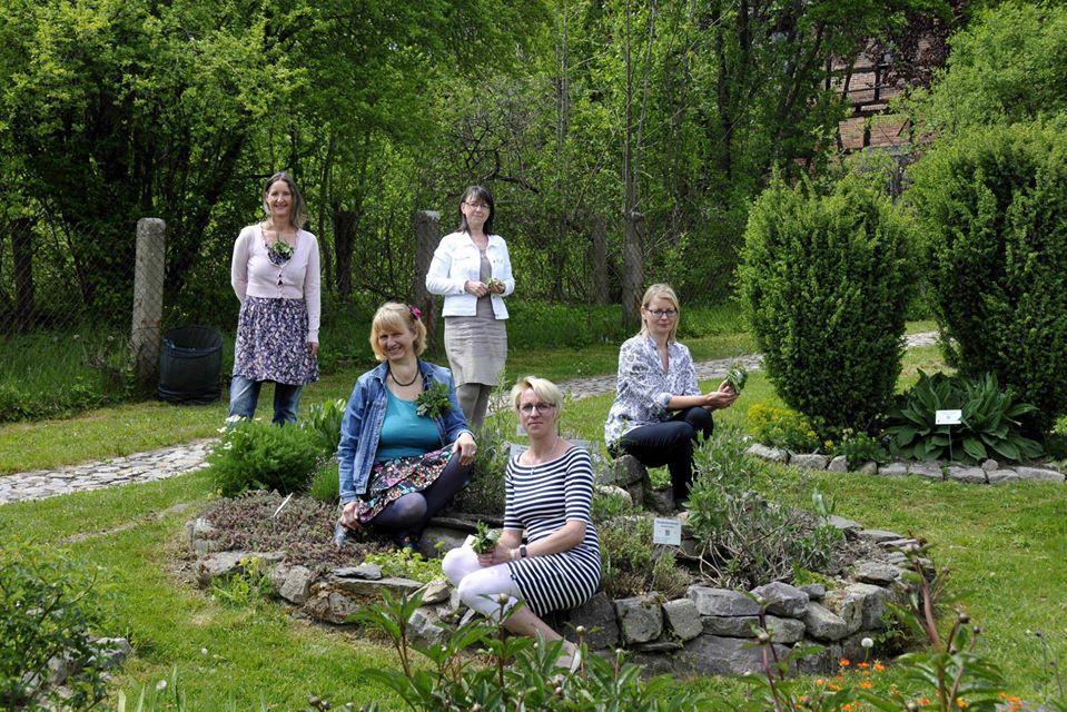 Referentinnen-Team der Kräuterschule Großbreitenbach