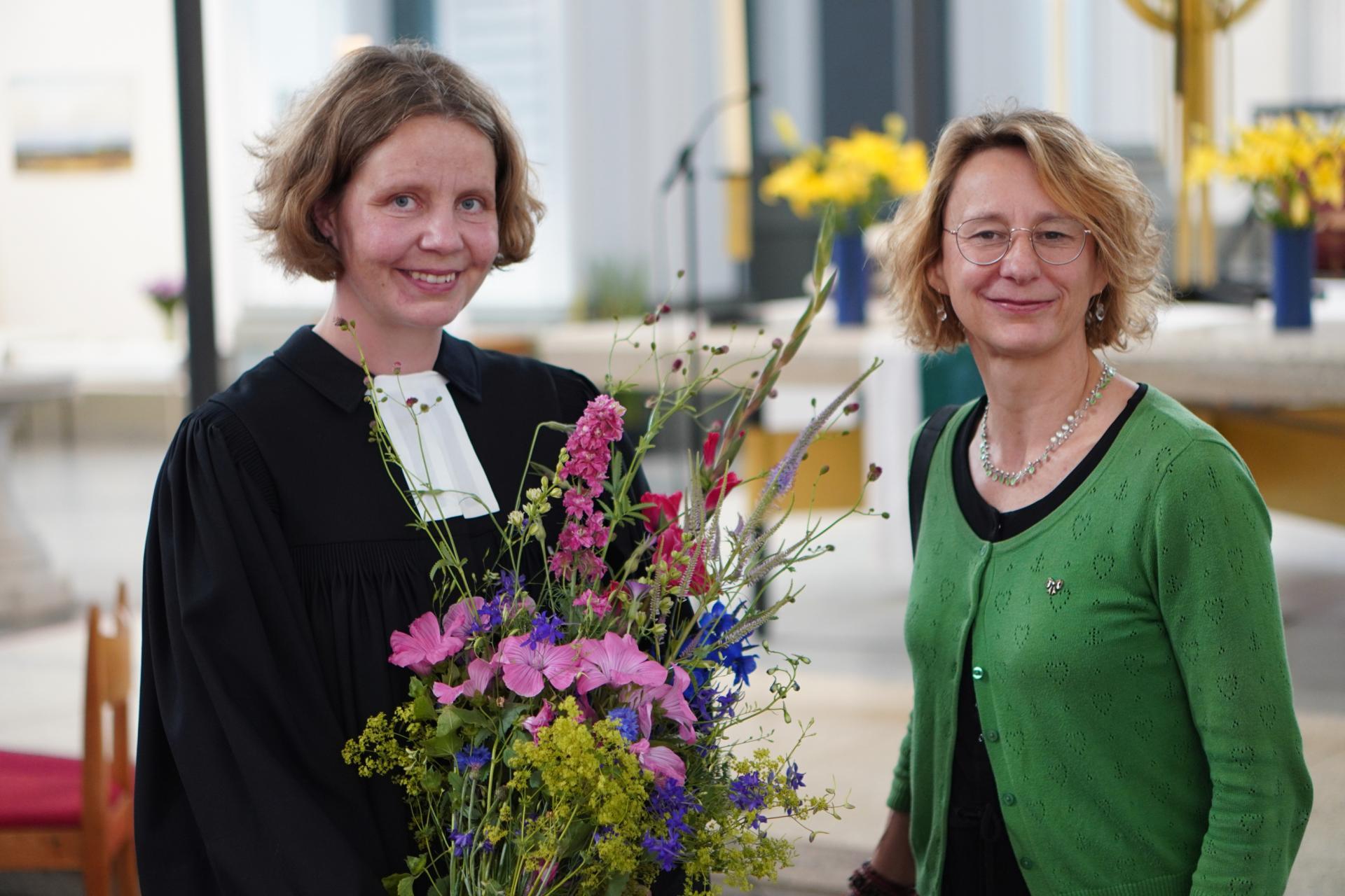Claudia Mieth und Ina von Holly