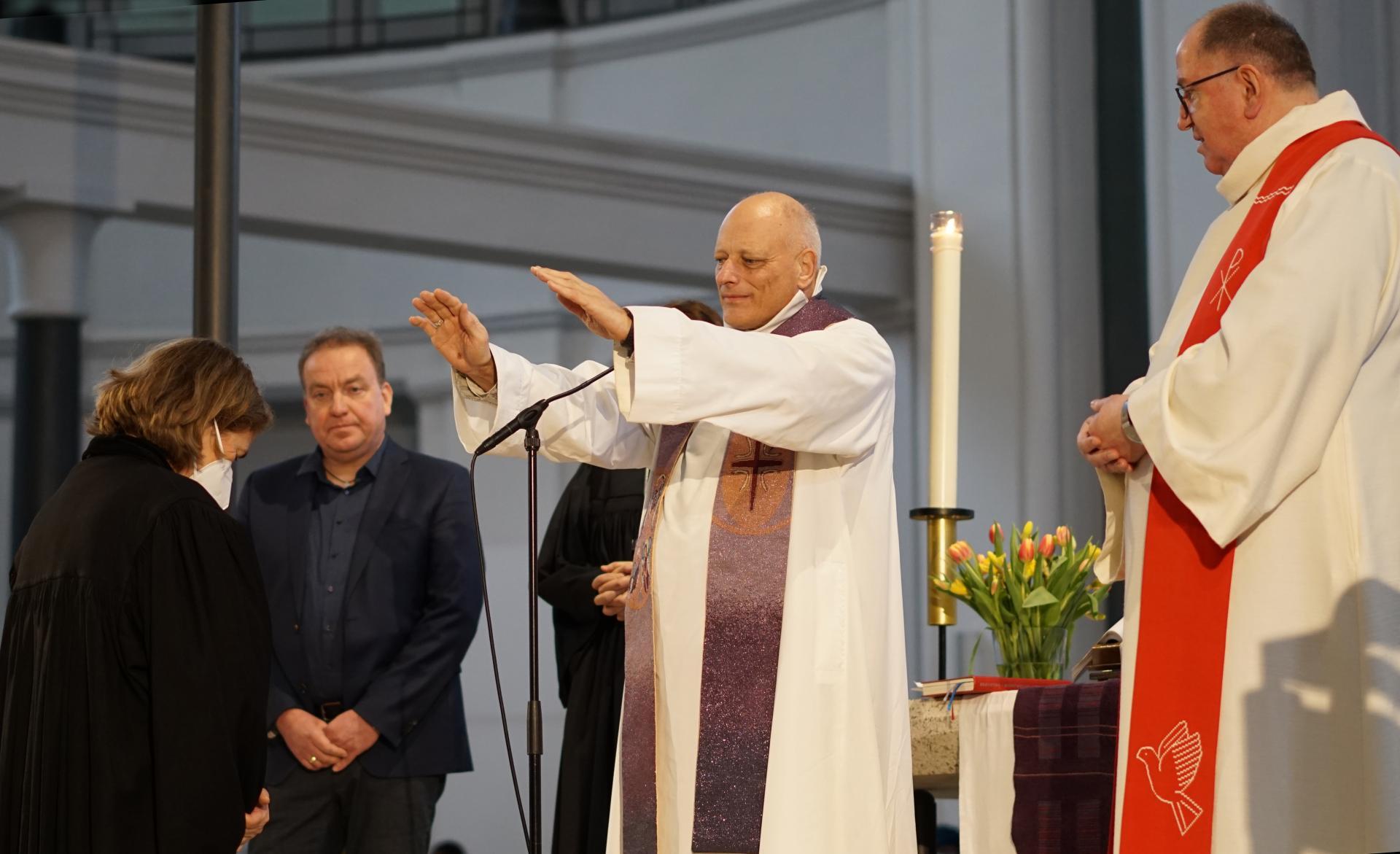 Segen für Pfarrerin von Kirchbach