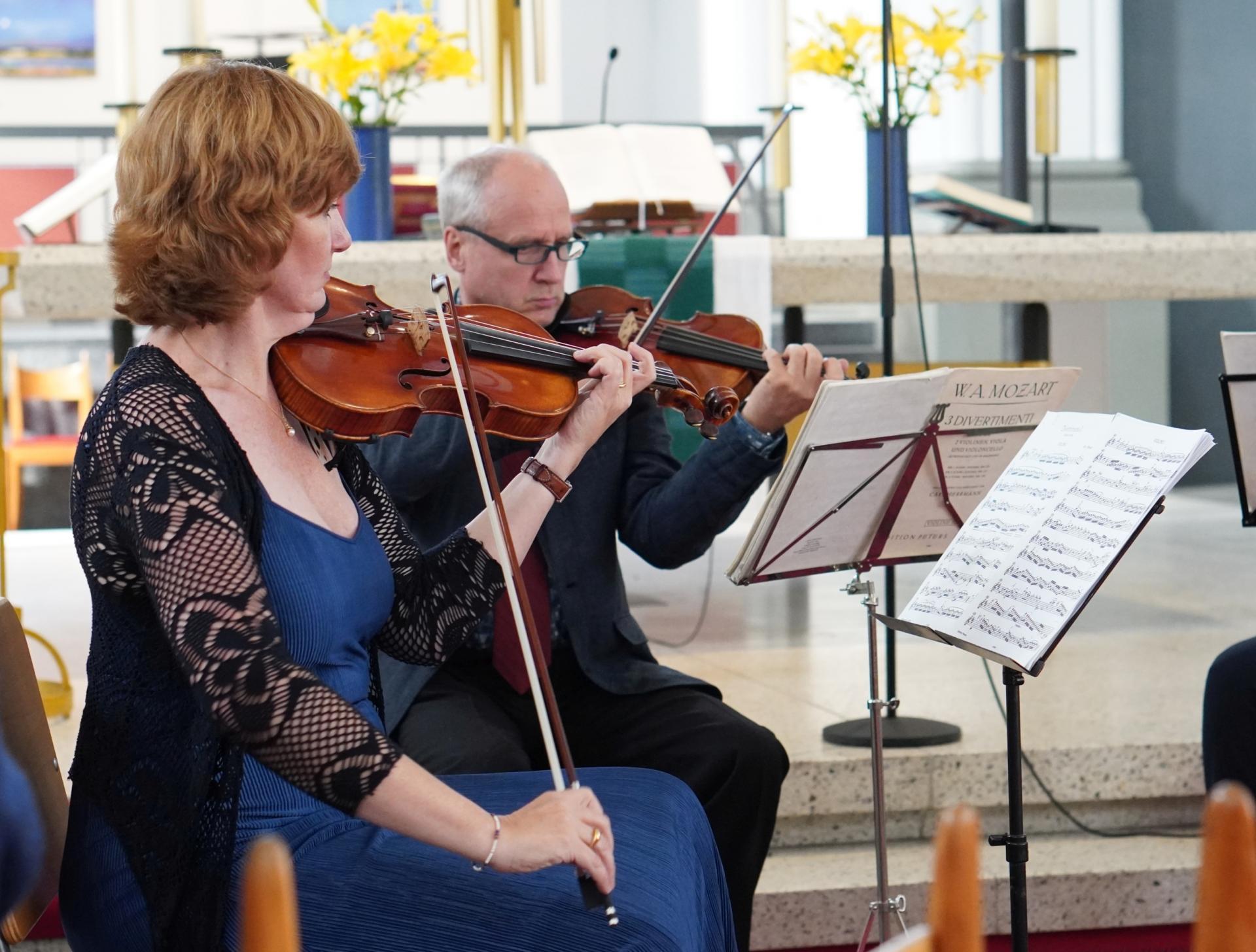 Quartett der Komischen Oper - Violinen