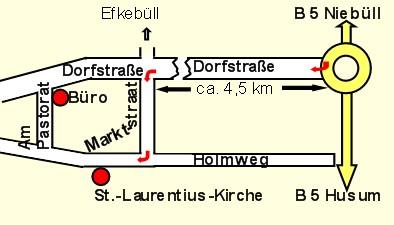 Kirchenplan
