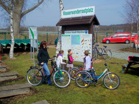 Fahrradtour durchs Recknitztal - Marlower Kanu-& Bootsverelih