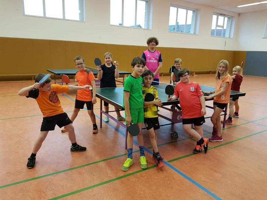 Tischtennisgruppe 2019/20