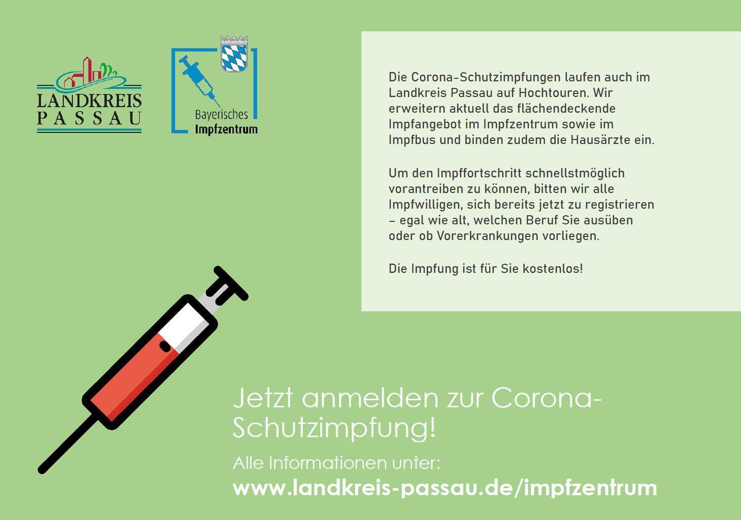 Anmeldung Corona-Impfung