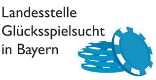 Logo Landesstelle für Glücksspielsucht