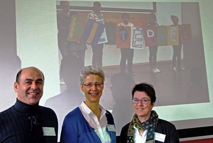 Team für das Disterweg-Stipendium