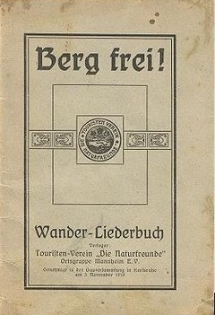 """Berg frei"" Liederbuch"