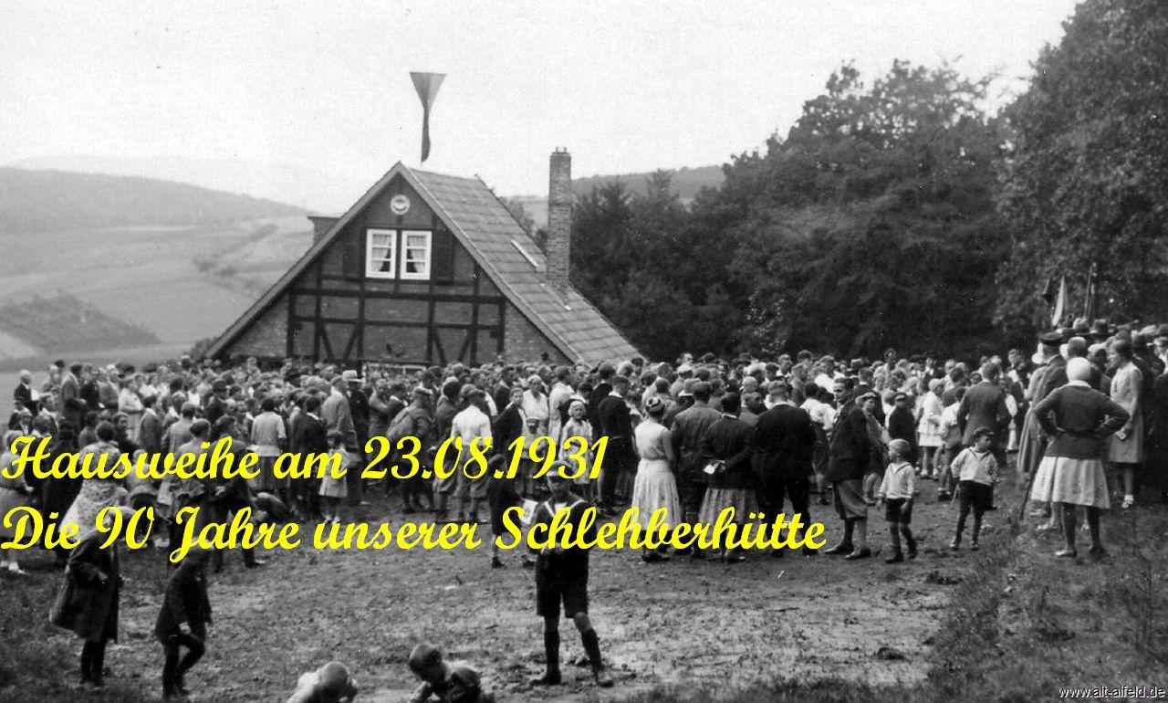 Hausweihe 1931