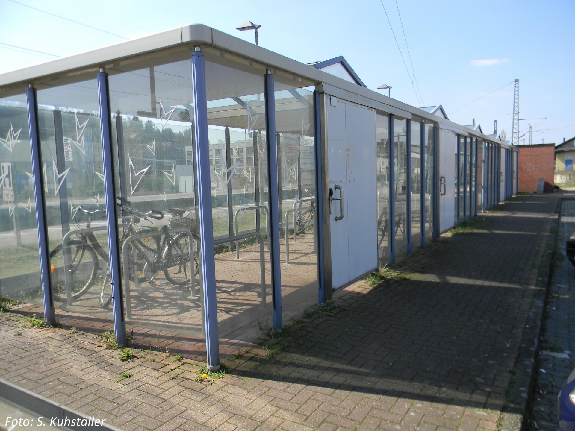 Alfeld Fahrradboxen