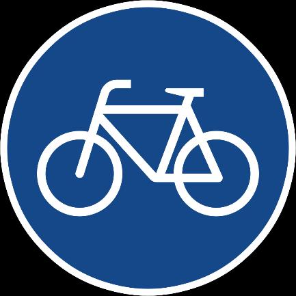 Zeichen 237 Radweg