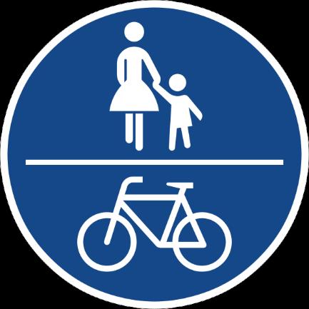 Zeichen 240 gemeinsamer Geh- und Radweg