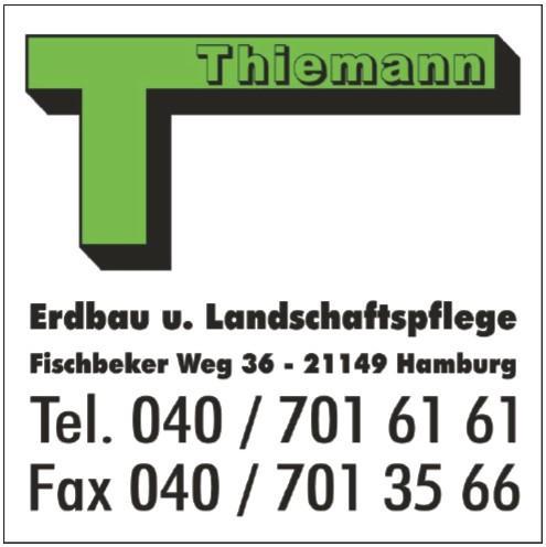 Thiemann Erdbau und Landschaftspflege