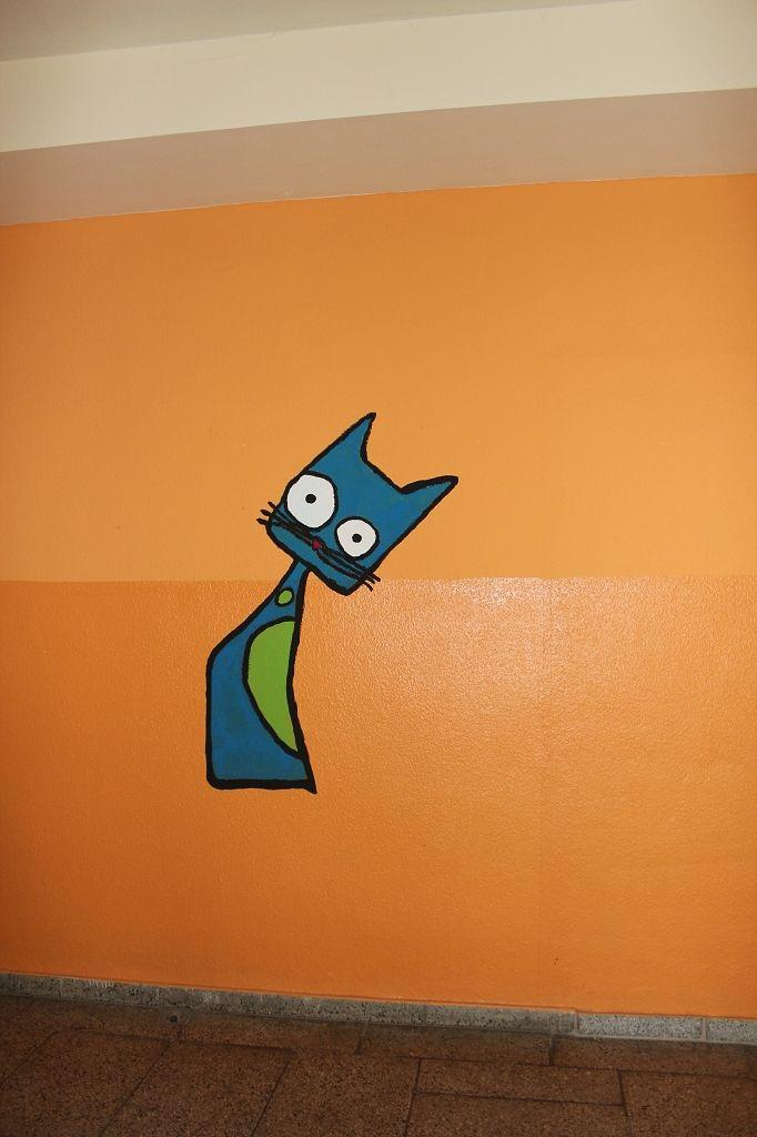 Katze 3. Etage