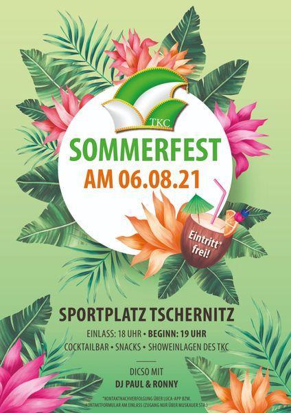 Sommerfest des TKC