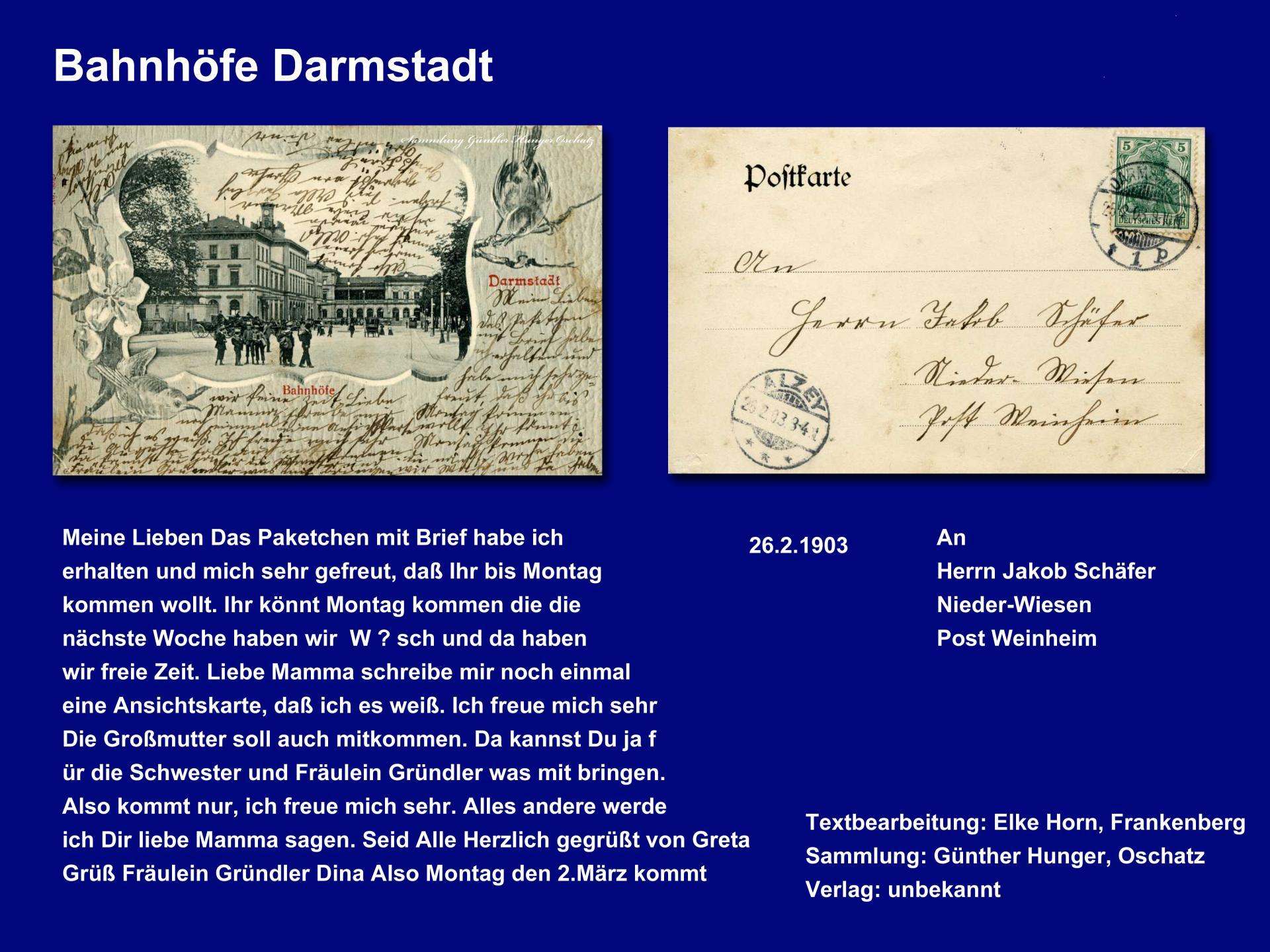Bahnhof Darmstadt
