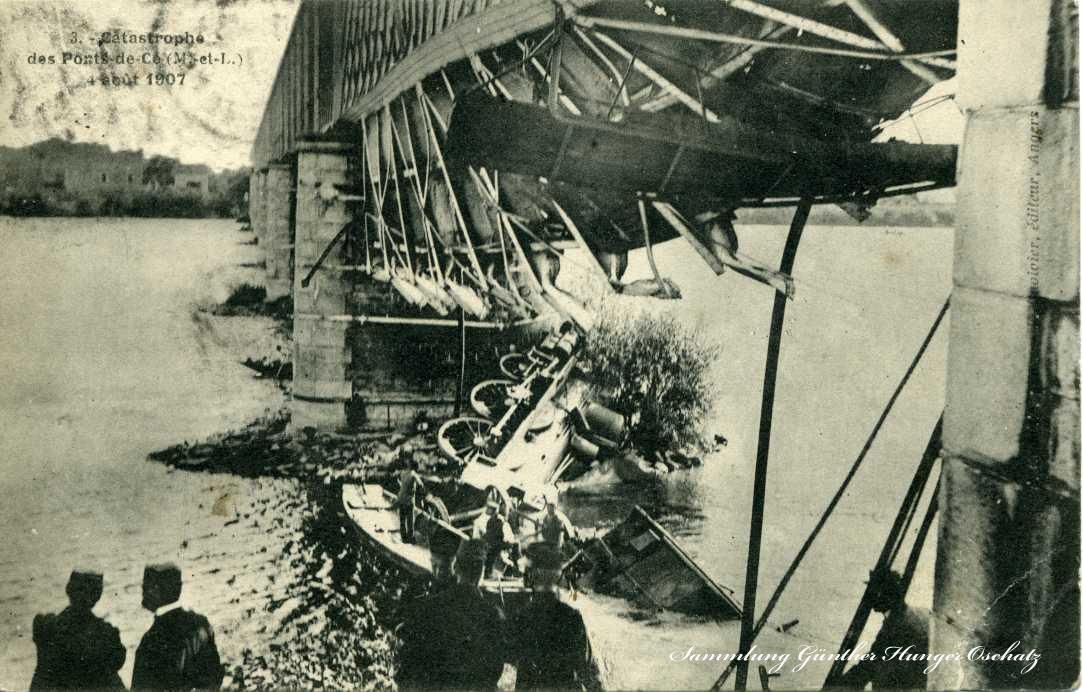 Catastrophe des Ponts- de -Ce 1907