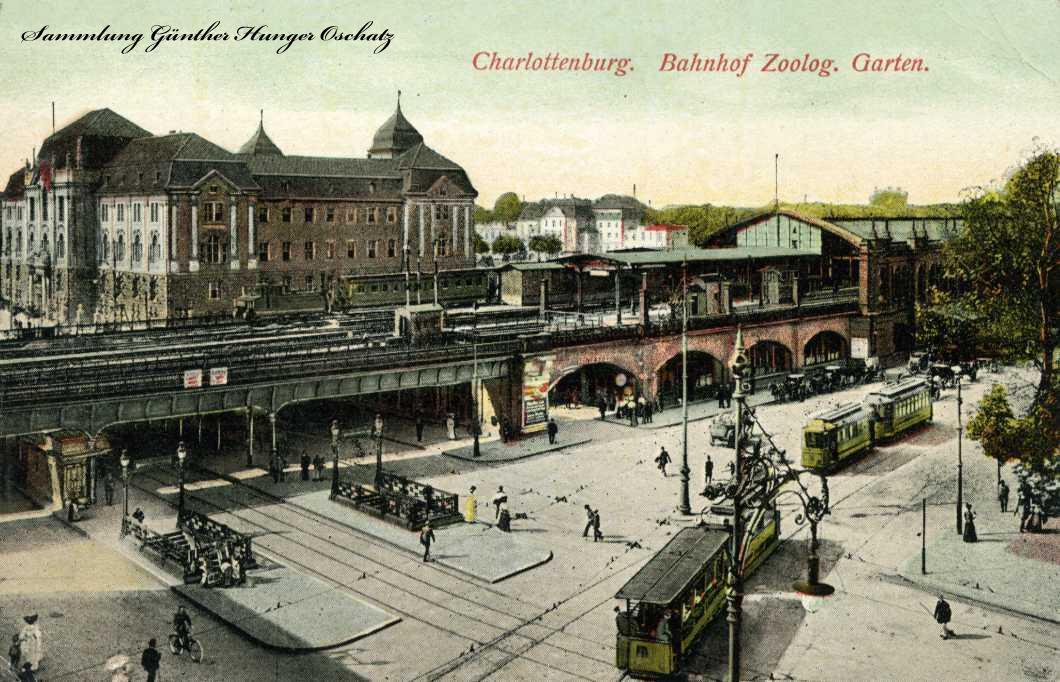 Charlottenburg Bahnhof Zoolog. Garten