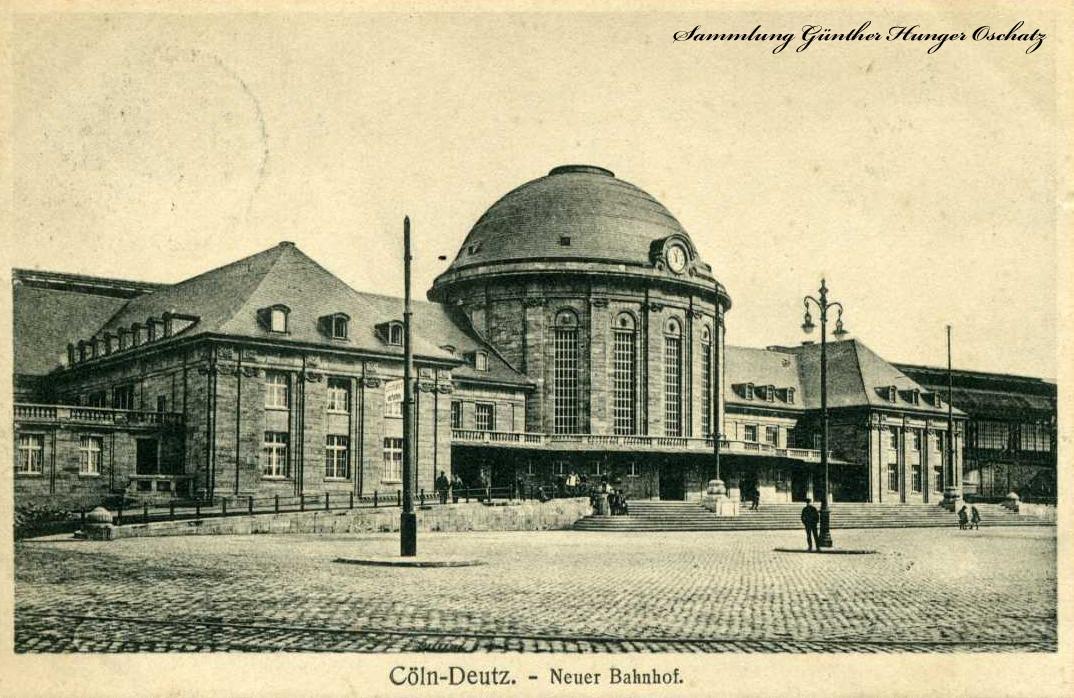 Cöln-Deutz Neuer Bahnhof