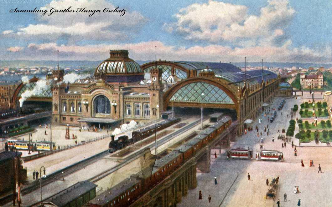 Der Hauptbahnhof Dresden