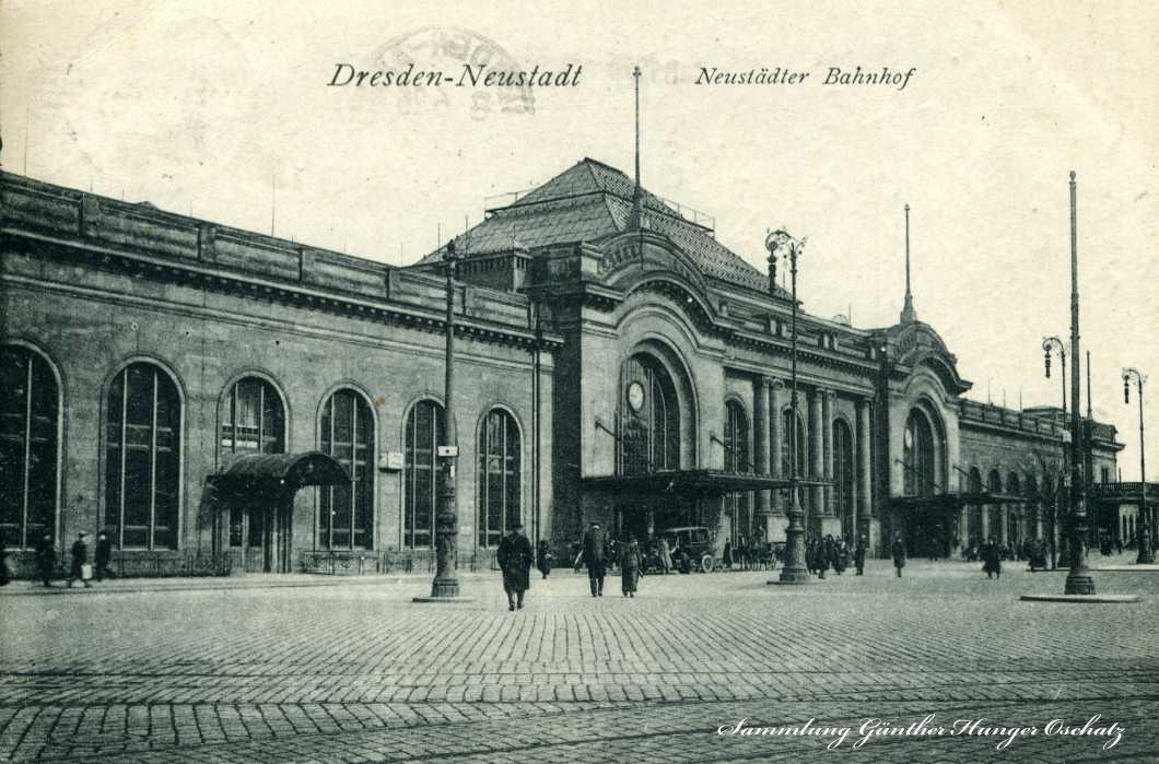 Dresden-Neustadt Neustädter Bahnhof