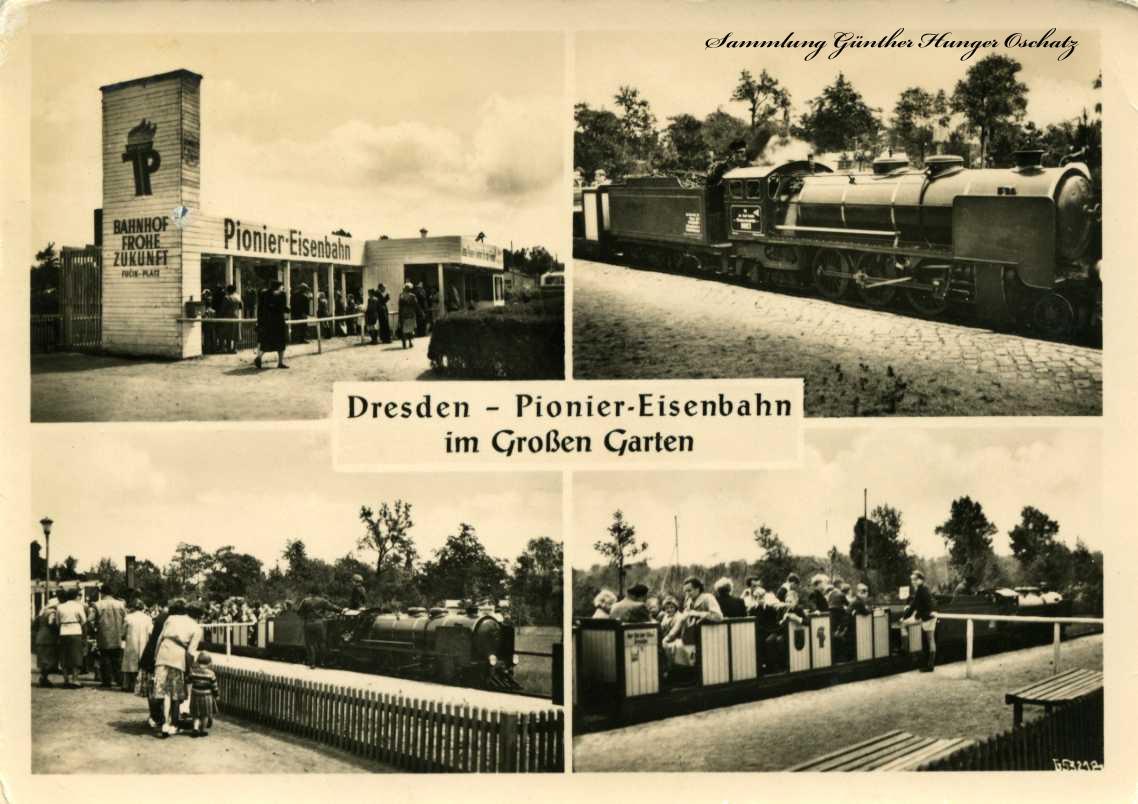 Dresden - Pionier-Eisenbahn im Großen Garten