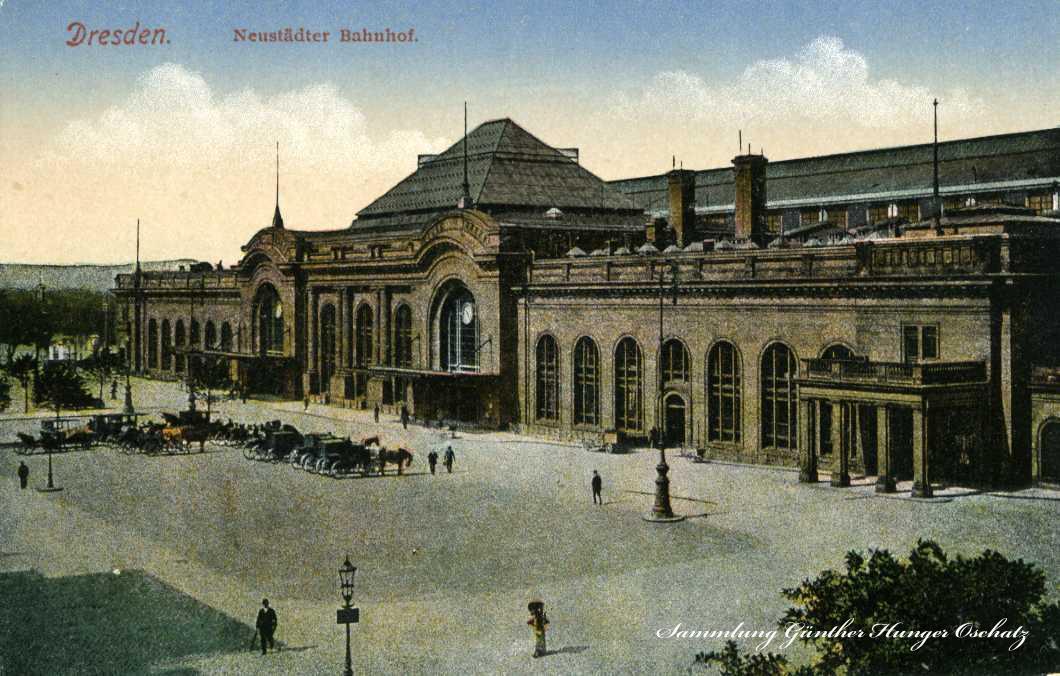 Dresden Neustädter Bahnhof