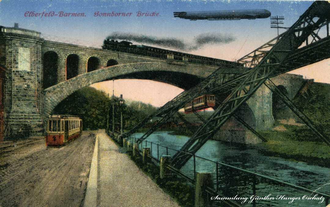 Elberfeld-Barmen Sonnborner Brücke