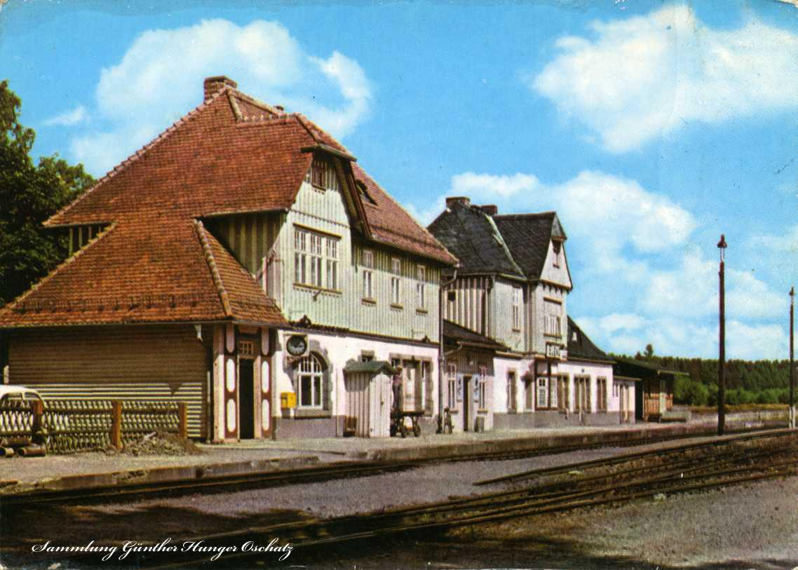 Elend Harz Bahnhof