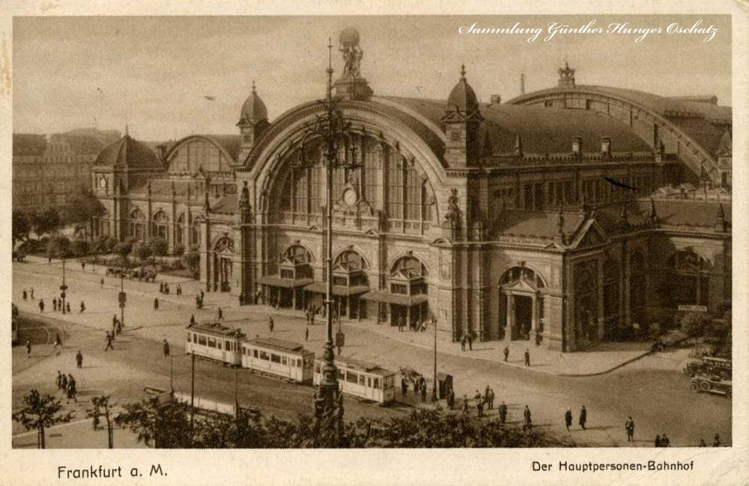 Frankfurt a. M.  Der Hauptpersonen-Bahnhof