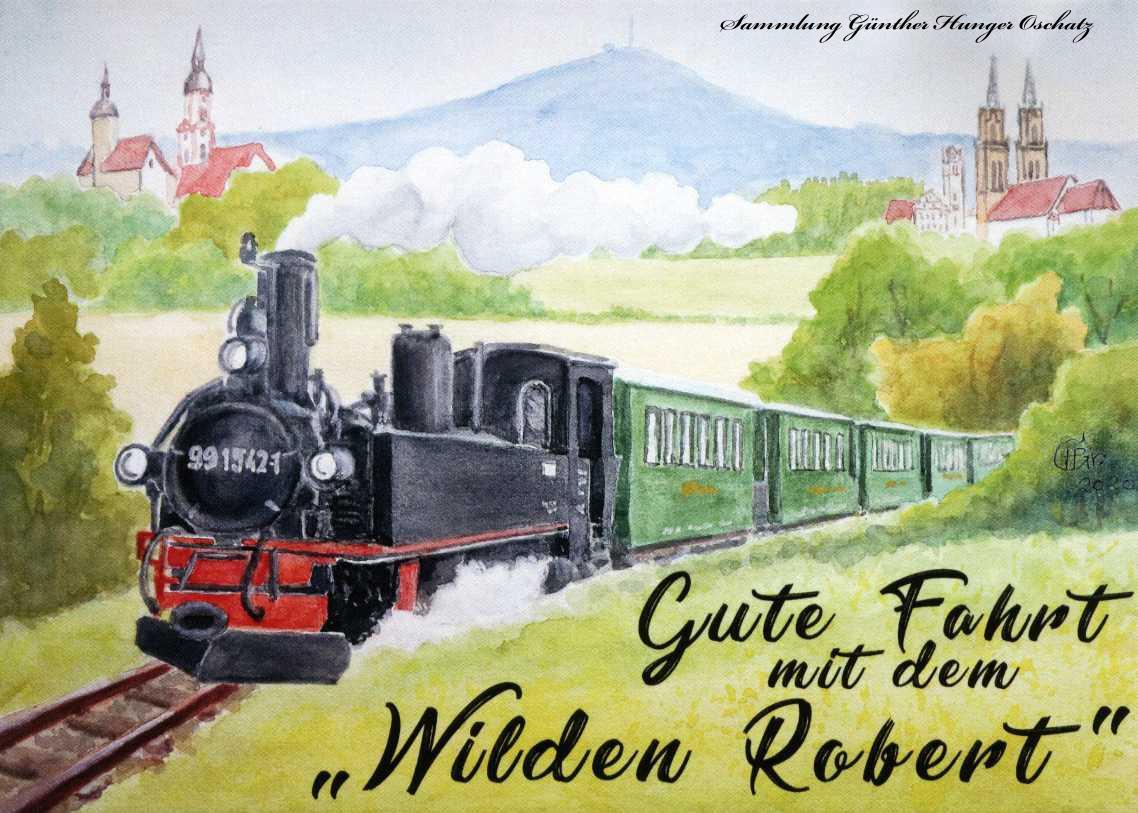 Gute Fahrt mit dem Wilden Robert