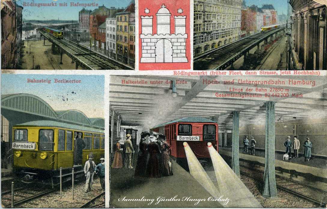 Hamburg Hoch- und Untergrundbahn