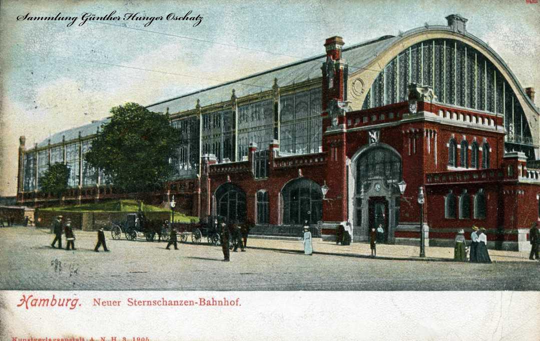 Hamburg Neuer Sternschanzen-Bahnhof