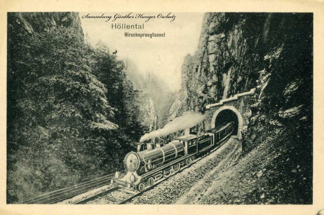 Höllental Hirschsprungtunnel