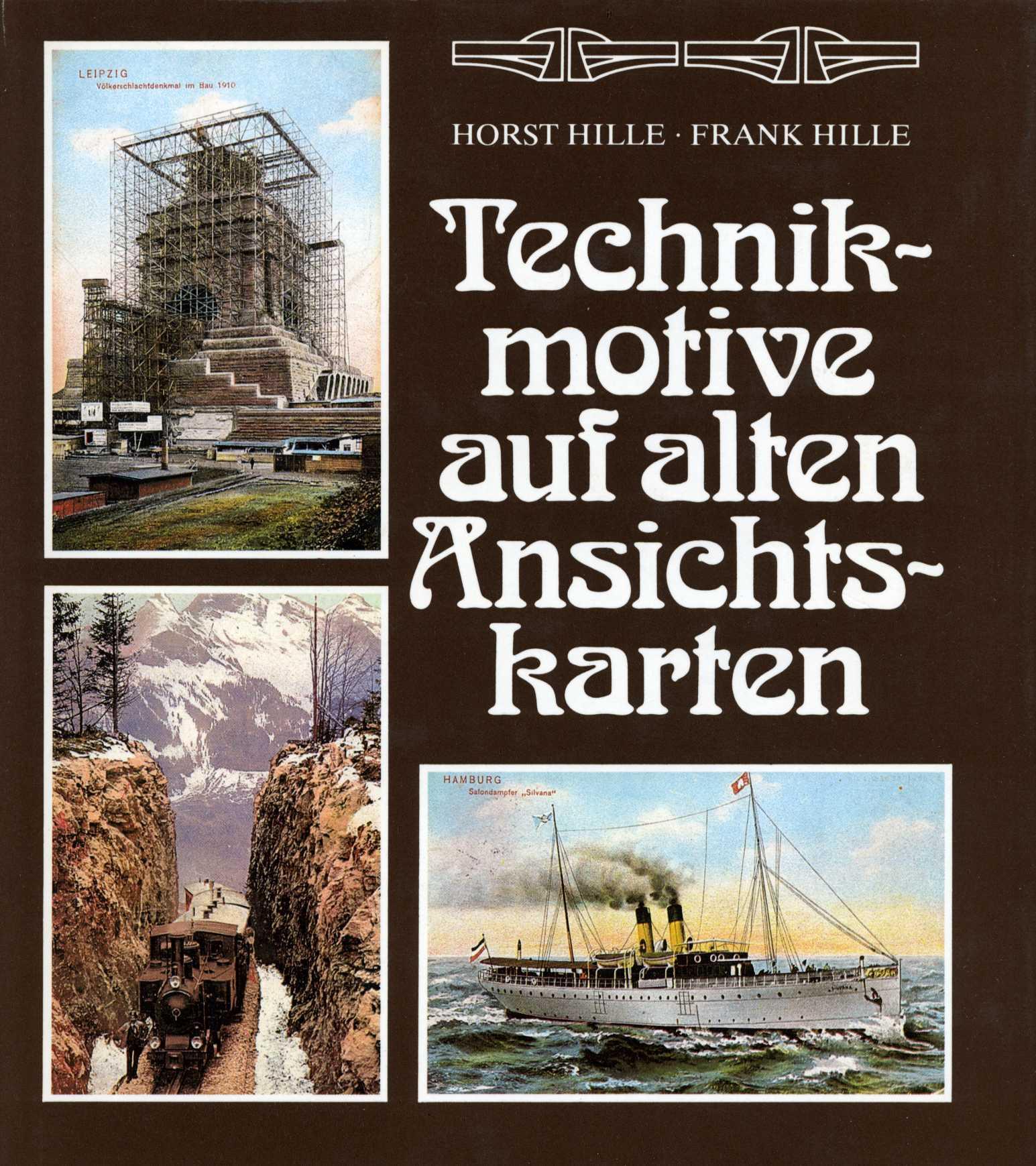 Technikmotive auf alten Ansichtskarten