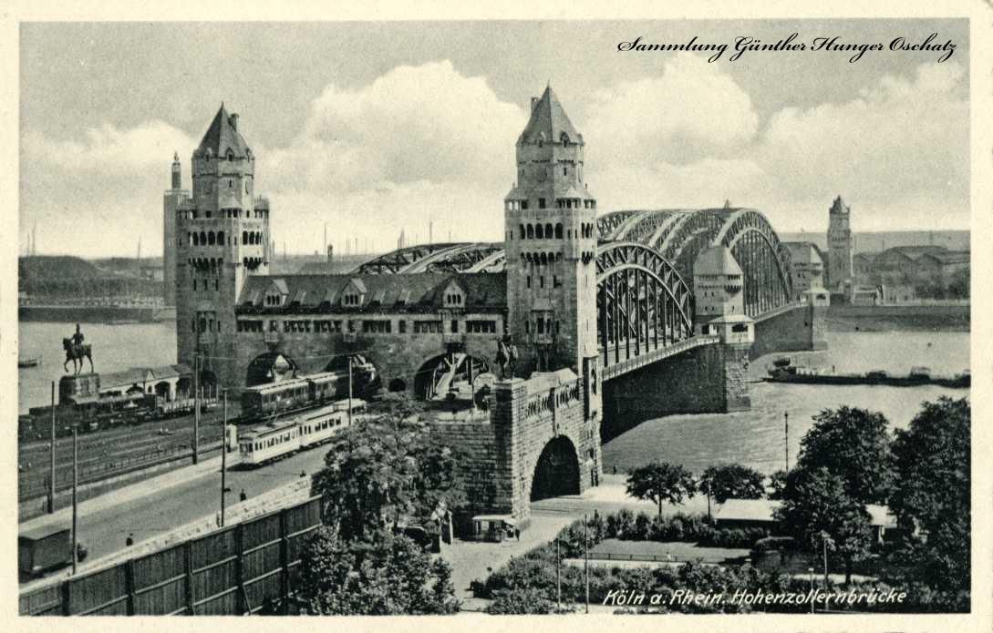 Köln a. Rhein. Hohenzollernbrücke