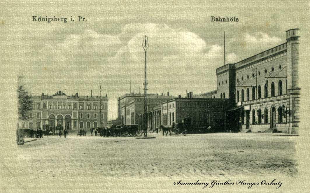 Königsberg i. Pr. Bahnhöfe
