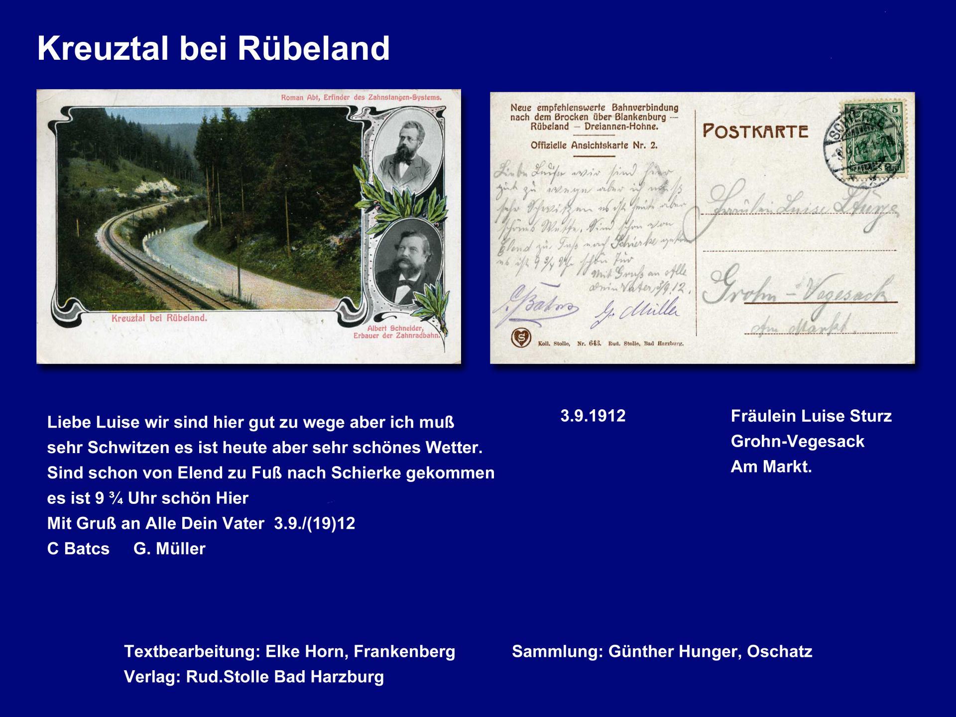 Kreuztal bei Rübeland