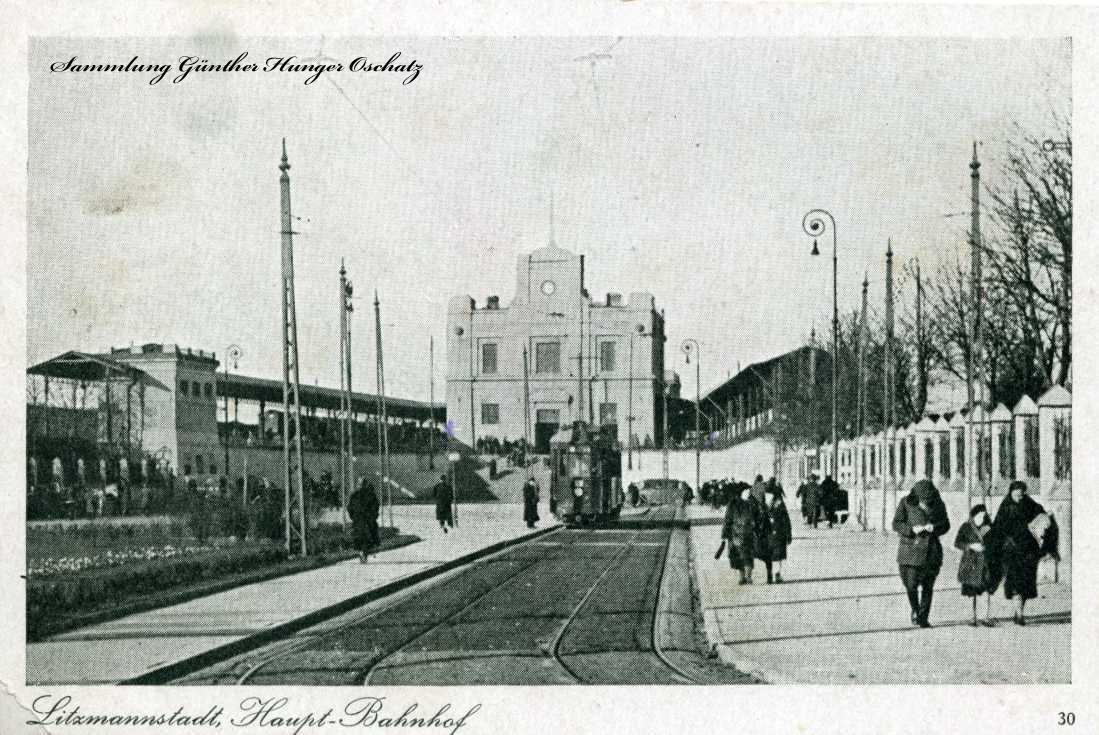 Litzmannstadt Haupt-Bahnhof