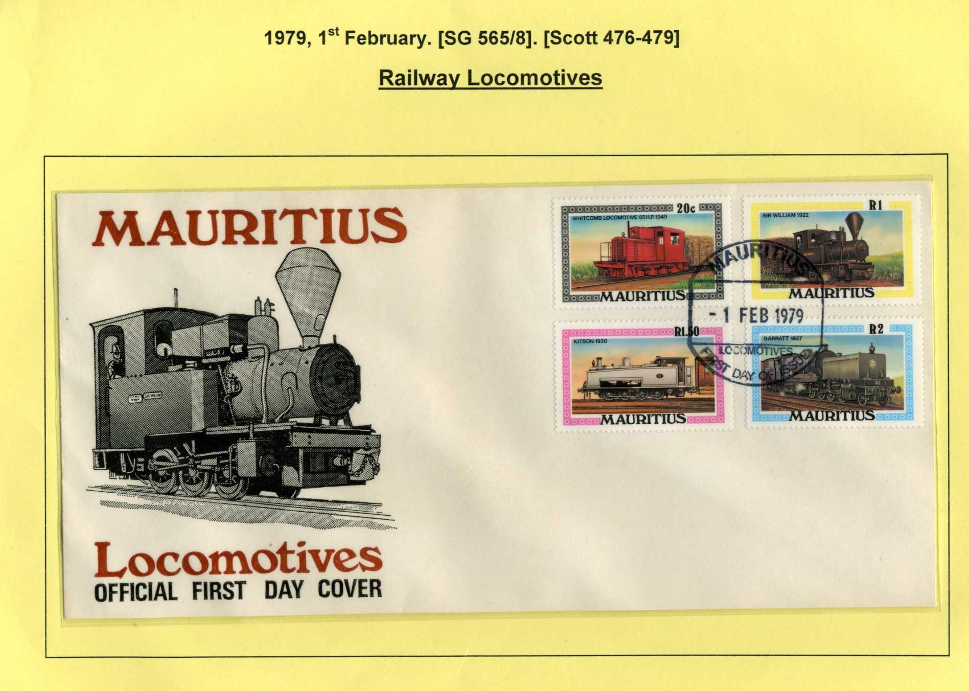 Mauritius Railway Locomotives