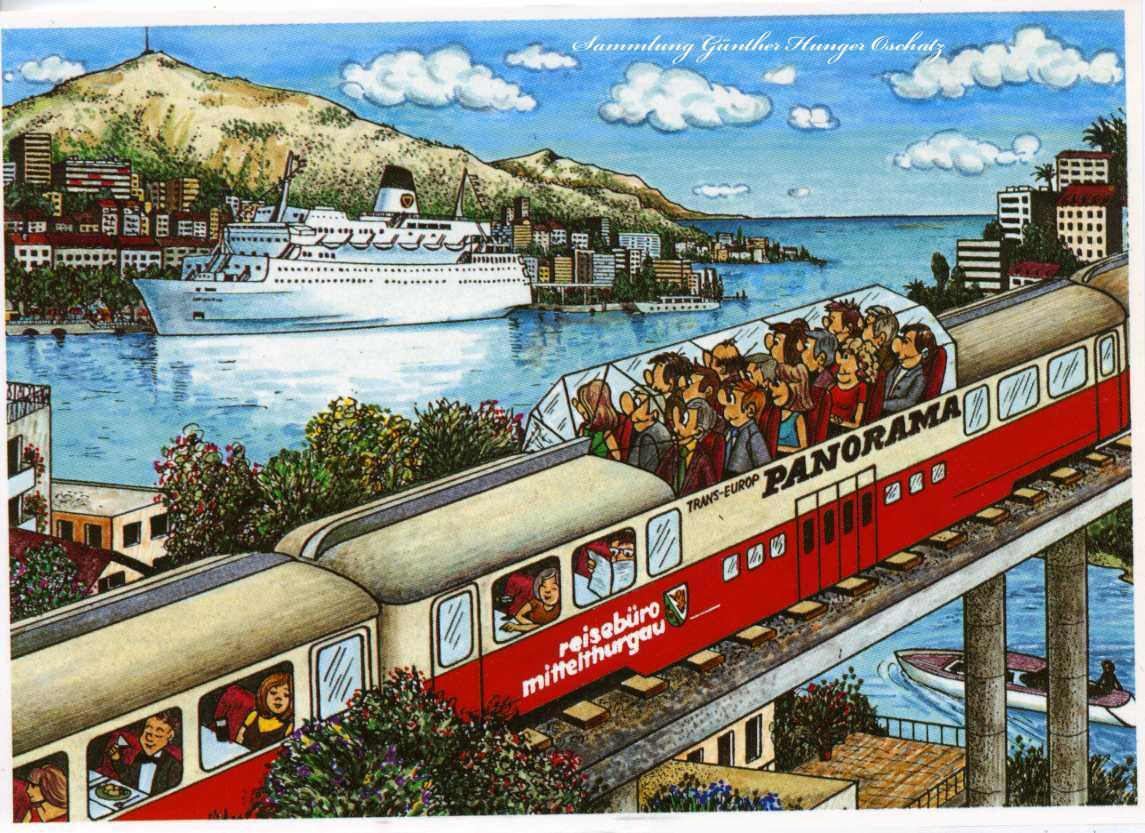 Panorama-Wagen das einmalige Reiseerlebnis